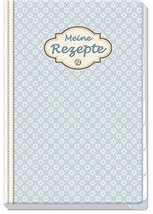 Meine Rezepte Vintage, rezept, Rezeptbuch, Register, Küche, Sammlung, Essen, Trinken