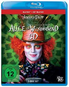 Alice im Wunderland (+ 3D Blu-ray) [Blu-ray]