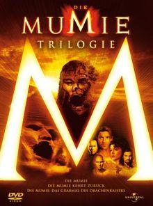 Die Mumie + Die Mumie kehrt zurück + Die Mumie: Das Grabmal des Drachenkaisers (Single DVDs im Schuber + Lenticular Cover)