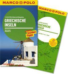 MARCO POLO Reiseführer Griechische Inseln, Ägais: Reisen mit Insider-Tipps. Mit EXTRA Faltkarte & Reiseatlas: Ägäis