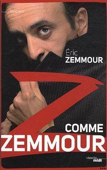 Z comme Zemmour