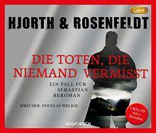 Die Toten, die niemand vermißt (MP3-CD) (Die Fälle des Sebastian Bergman)