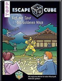 Escape Cube Kids Auf der Spur des Goldenen Ninja: Das Escape-Abenteuer für Kinder mit dem Zauberwürfel