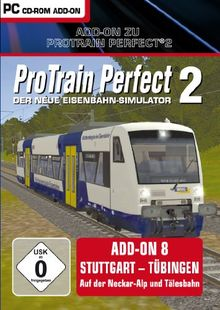 Pro Train Perfect 2 - AddOn 8 Stuttgart-Tübingen