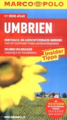 MARCO POLO Reiseführer Umbrien: Mit Reiseatlas. Reisen mit Insider-Tipps