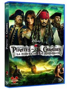 Pirates des caraïbes 4 : la fontaine de jouvence [FR Import]