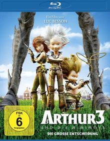 Arthur und die Minimoys 3 - Die große Entscheidung [Blu-ray]