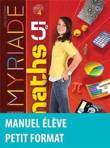 Maths 5e Myriade