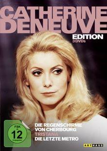 Catherine Deneuve Edition: Die Regenschirme von Cherbourg / Tristana / Die letzte Metro [3 DVDs]