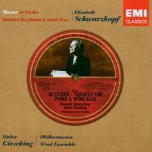 Lieder/Klavierquintett Kv 452