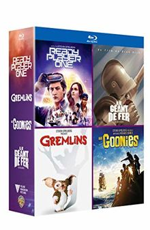 Coffret amblin 4 films : ready player one ; les goonies ; gremlins ; le géant de fer [Blu-ray]