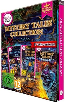 Mystery Tales Collection (1-6|Standard/Upgrade/Home/Personal/Professional usw.|1 Gerät / 2 Geräte usw.|unbegrenzt|PC/Mac/Android usw.|Disc|Disc