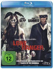 Lone Ranger [Blu-ray]