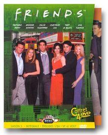 Friends - L'Intégrale Saison 5 - Édition 4 DVD [FR Import]