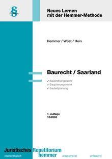 Baurecht Saarland (Skripten - Öffentliches Recht)