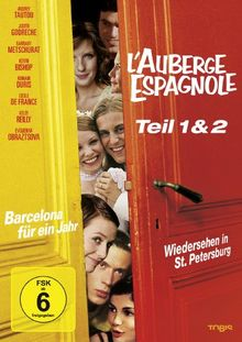 L' Auberge Espagnole - 1 + 2 (Collector's Box) [2 DVDs]