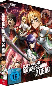 Highschool of the Dead - Gesamtausgabe, Episoden 1-12 (inkl. Postkarten) [3 DVDs]