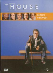 Dr. House: Sezon 1 [5 DVD Box] [PL Import]
