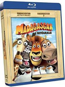 Madagascar + Madagascar 2 [Blu-ray] [FR Import]