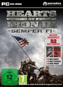 Hearts of Iron 3 Semper Fi (Add-On ) (PC)