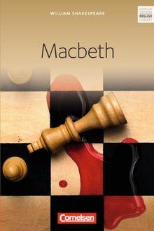 Cornelsen Senior English Library - Fiction: Ab 11. Schuljahr - Macbeth: Textband
