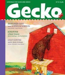 Gecko Kinderzeitschrift Band 14: Lesespaß für Klein und Groß