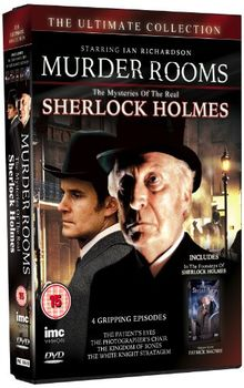 Murder Rooms: The Mysteries of the Real Sherlock Holmes (The Patient's Eyes / The Photographer's Chair / The Kingdom of Bones / The White Knight Stratagem [2 DVDs] [UK Import]