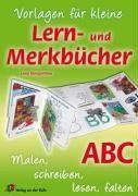 Vorlage für kleine Lern- und Merkbücher - ABC: Malen, schreiben, lesen, falten