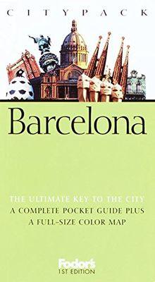 Fodor's Citypack Barcelona, 1st Edition (Citypacks)