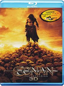 Conan - The barbarian (2D+3D) [Blu-ray] [IT Import]