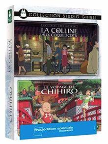 Coffret ghibli 2 films : la colline aux coquelicots ; le voyage de chihiro