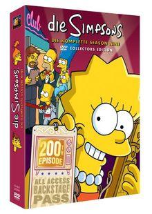 Die Simpsons - Die komplette Season 9 (Collector's Edition, 4 DVDs)