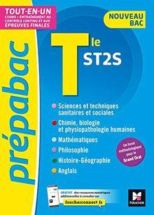 PREPABAC - Toute la terminale ST2S - Nouveau bac - Contrôle continu et épreuves finales - Révision (Prépabac (11))