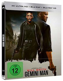 Gemini Man - 3D Blu-ray - Bluray - UHD - Steelbook [Limited Edition](exklusiv bei Amazon.de)