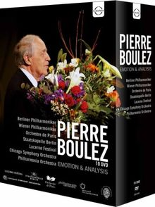 Pierre Boulez: Emotion & Analysis (1974-2009) [10 DVD Box]