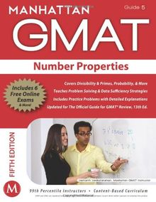Number Properties GMAT Strategy Guide, 5th Edition (Manhattan GMAT Preparation Guide: Number Properties)