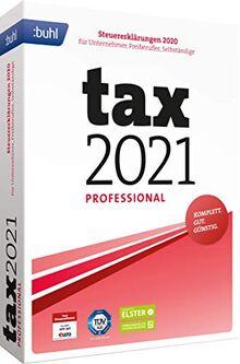 Buhl data service GmbH Tax 2021 Professional (für Steuerjahr 2020 | Standard Verpackung)