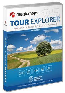 Tour Explorer 25 - Set West: Nordrhein-Westfalen/Hessen/Rheinland-Pfalz/Saarland Version 4.0