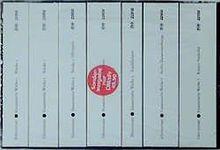 Gesammelte Werke in sieben Bänden. 7 Bände