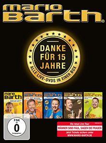 Mario Barth - Danke für 15 Jahre: Alle Live-DVDs in einer Box!