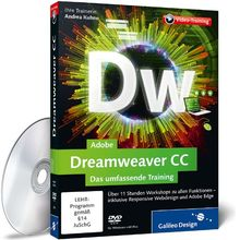Adobe Dreamweaver CC - Das umfassende Training (PC+MAC+Linux)