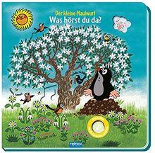 """Was hörst du da? """"Der kleine Maulwurf"""": Pappenbuch mit Hardcover und 10 Sounds"""