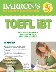 TOEFL iBT with 10 Audio CDs (Barron's TOEFL IBT (w/CD audio))
