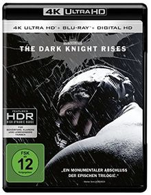 The Dark Knight Rises (4K Ultra HD + 2D-Blu-ray) (2-Disc Version) [Blu-ray]