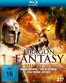 Dragon Fantasy Fighter - Collection (Dragon Crusaders / Edge of the Empire / Geralt von Riva-Der Hexer) [Blu-ray] [Limited Collector's Edition]