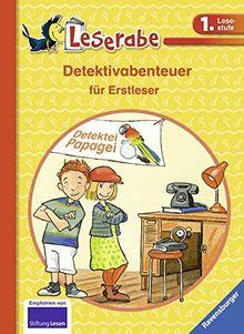 Detektivabenteuer für Erstleser (Leserabe - Sonderausgaben)