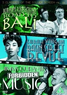 3 Classics Of The Silver Screen - Vol. 10 - Road To Bali / Basin Street Revue / Forbidden Music [UK Import]