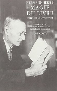 Magie du livre (Jose Corti)