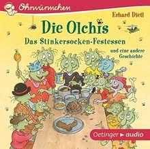 Die Olchis: Das Stinkersocken-Festessen und eine andere Geschichte