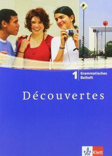 Découvertes 1 - Grammatisches Beiheft (Alle Bundesländer): TEIL 1
